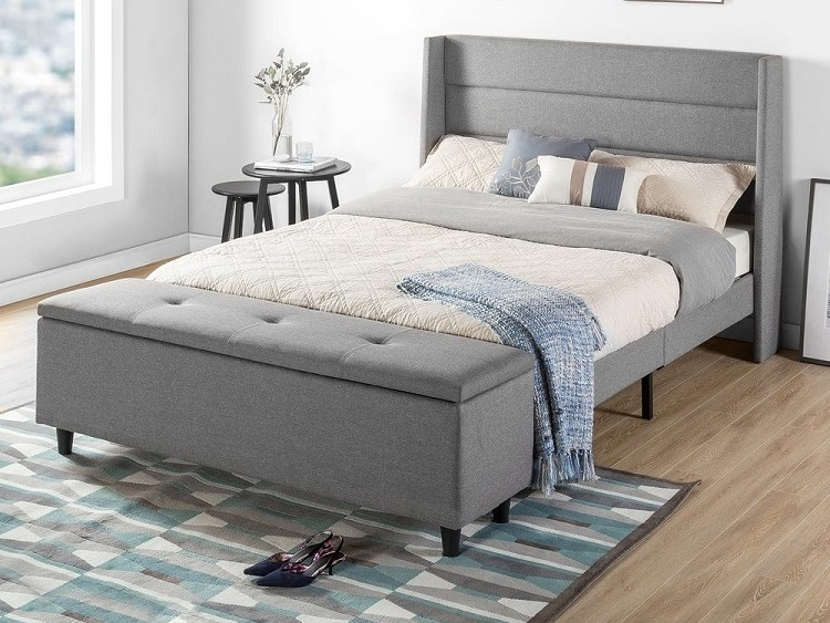 end of bed storage ottoman